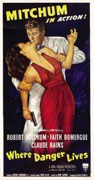 Where Danger Lives - Movie Poster (xs thumbnail)