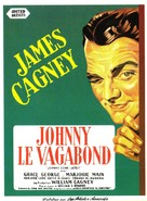Johnny Come Lately - French Movie Poster (xs thumbnail)