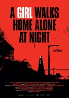 A Girl Walks Home Alone at Night - German Movie Poster (xs thumbnail)