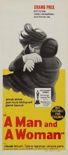 Un homme et une femme - Australian Movie Poster (xs thumbnail)