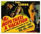 Mr. Moto Takes a Vacation - Movie Poster (xs thumbnail)