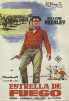 Flaming Star - Spanish Movie Poster (xs thumbnail)