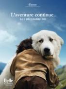 Belle et Sébastien, l'aventure continue - French Movie Poster (xs thumbnail)