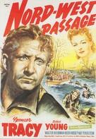 Northwest Passage - German Movie Poster (xs thumbnail)