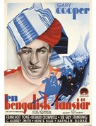 The Lives of a Bengal Lancer - Swedish Movie Poster (xs thumbnail)