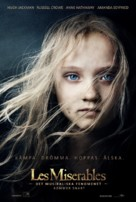 Les Misérables - Swedish Movie Poster (xs thumbnail)