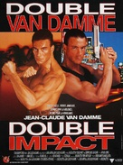 Double Impact - French Movie Poster (xs thumbnail)