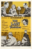 The Lady Vanishes - Re-release movie poster (xs thumbnail)