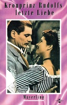 Kronprinz Rudolfs letzte Liebe - German VHS movie cover (xs thumbnail)