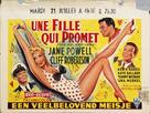 The Girl Most Likely - Belgian Movie Poster (xs thumbnail)