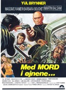 Con la rabbia agli occhi - Danish Movie Poster (xs thumbnail)