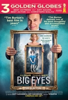 Big Eyes - British Movie Poster (xs thumbnail)