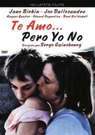 Je t'aime moi non plus - Spanish DVD cover (xs thumbnail)