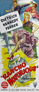 Rancho Notorious - Australian Movie Poster (xs thumbnail)