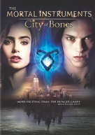 The Mortal Instruments: City of Bones - DVD cover (xs thumbnail)