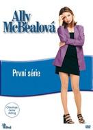 """Ally McBeal"" - Czech DVD cover (xs thumbnail)"