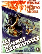 The Frogmen - French Movie Poster (xs thumbnail)