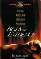 Body Of Evidence - DVD movie cover (xs thumbnail)