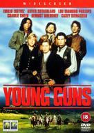 Young Guns - British DVD cover (xs thumbnail)