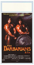 The Barbarians - Italian Movie Poster (xs thumbnail)