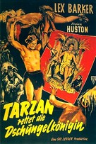 Tarzan's Peril - German Movie Poster (xs thumbnail)