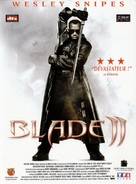 Blade 2 - French DVD movie cover (xs thumbnail)