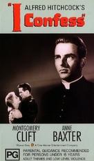 I Confess - Australian VHS cover (xs thumbnail)