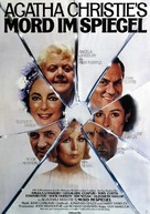 The Mirror Crack'd - German Movie Poster (xs thumbnail)