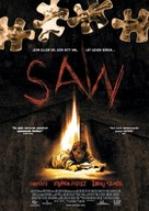 Saw - Swedish Movie Poster (xs thumbnail)