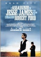 The Assassination of Jesse James by the Coward Robert Ford - Italian Movie Poster (xs thumbnail)