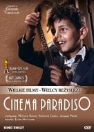 Nuovo cinema Paradiso - Polish Movie Cover (xs thumbnail)