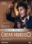 Nuovo cinema Paradiso - Polish Movie Cover (xs thumbnail)
