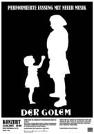 Der Golem, wie er in die Welt kam - German Movie Poster (xs thumbnail)