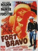 Escape from Fort Bravo - French Movie Poster (xs thumbnail)