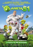 Planet 51 - Polish Movie Poster (xs thumbnail)