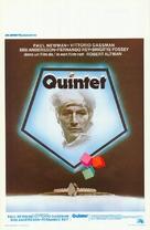 Quintet - Belgian Movie Poster (xs thumbnail)