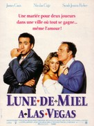 Honeymoon In Vegas - French Movie Poster (xs thumbnail)