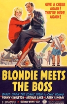 Blondie Meets the Boss - Movie Poster (xs thumbnail)
