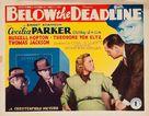 Below the Deadline - Movie Poster (xs thumbnail)