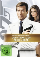 The Spy Who Loved Me - German DVD cover (xs thumbnail)