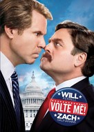 The Campaign - Czech DVD movie cover (xs thumbnail)