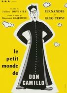 Le Petit monde de Don Camillo - French Movie Poster (xs thumbnail)