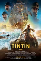 The Adventures of Tintin: The Secret of the Unicorn - Movie Poster (xs thumbnail)