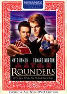 Rounders - DVD movie cover (xs thumbnail)