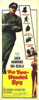The Two-Headed Spy - British Movie Poster (xs thumbnail)