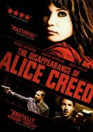 The Disappearance of Alice Creed - DVD movie cover (xs thumbnail)