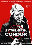 Three Days of the Condor - French Movie Poster (xs thumbnail)