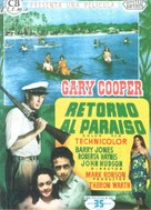 Return to Paradise - Spanish Movie Poster (xs thumbnail)