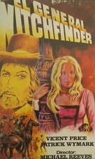 Witchfinder General - Spanish VHS movie cover (xs thumbnail)