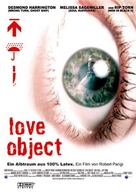 Love Object - German DVD cover (xs thumbnail)